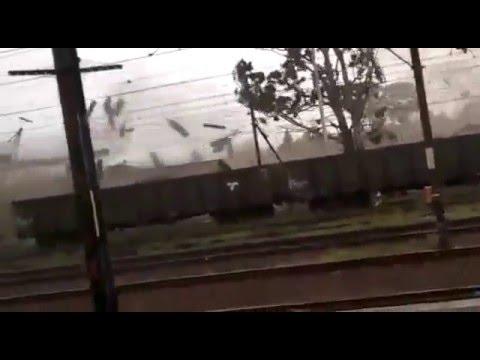 Tornado/ Hurricane in Richards Bay,  Kwazulu-Natal, South Africa 09-02-2016
