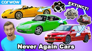 These types of awesome cars will NEVER be built again!