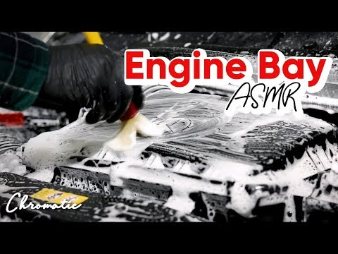 Deep Cleaning A Dirty Work Van Engine Bay - Auto Detailing ASMR