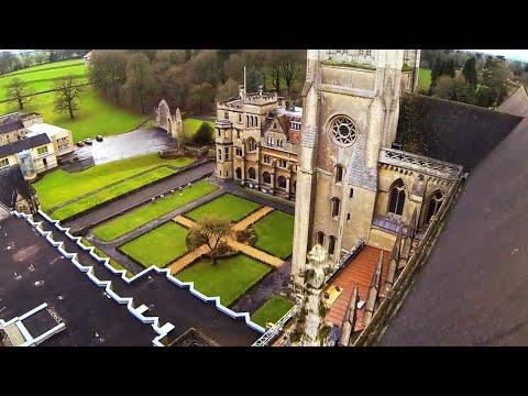 Downside Abbey Aerials