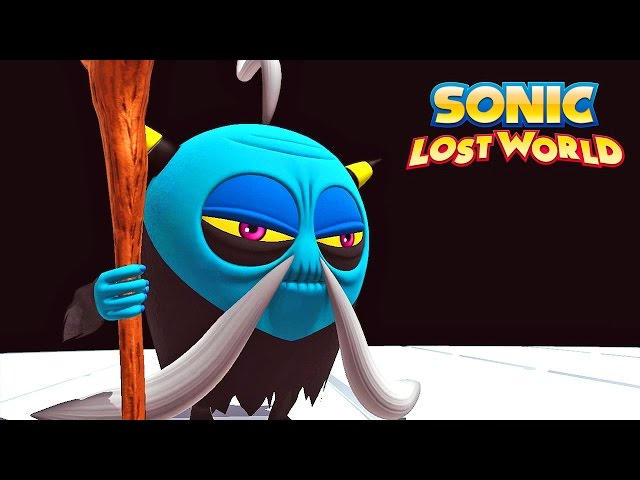 Sonic Lost World #05: Mestre do Kung Fu - Nintendo Wii U exclusivo gameplay