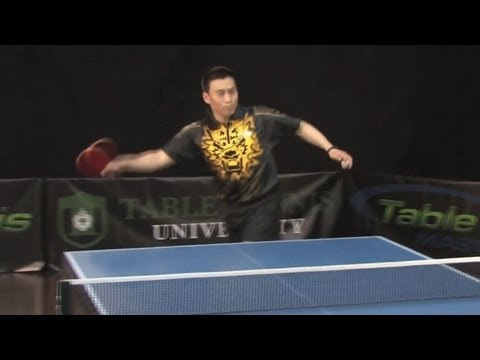 How To Third Ball Attack Instead Of Pushing - Table Tennis University
