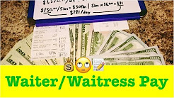 ??How Much Does a Waiter or Waitress Make? How Much I Make as a Server... Quick Cash Review