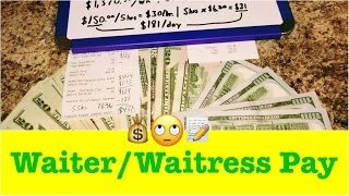 🍷How Much Does a Waiter or Waitress Make? 🍽 How Much I Make as a Server... Quick Cash Review