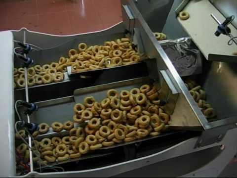 TECHNO D - Packaging machine for croutons, taralli, friselle, bakery, bread, biscuits