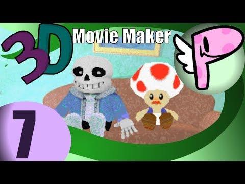 Microsoft 3D Movie Maker (pt.7 END)- Full Stream [Panoots] + Art