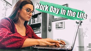 Vlog: Work Day in the Life!