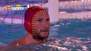 Водное поло. Чемпионат Европы - 2018. 1/2 финала. Испания - Италия