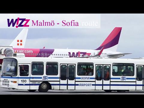 WIZZ Air Malmo - Sofia