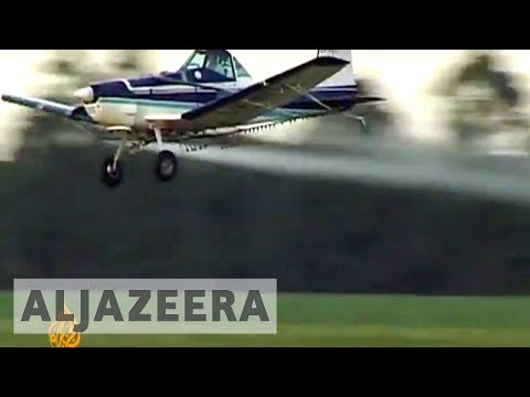 Argentinians link pesticides to illnesses