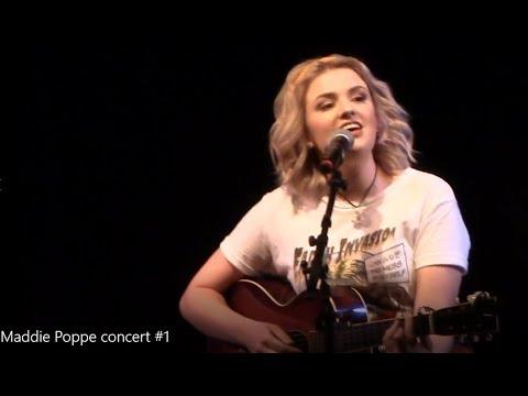 Maddie Poppe concert in Clinton Iowa part 1