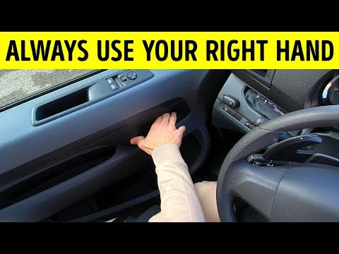 Opening the Car Door with Your Right Hand Can Save a Life