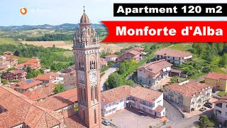 ☀️Продаются апартаменты 120 m2 в Монфорте-д'Альба | For sale apartment in Monforte d'Alba