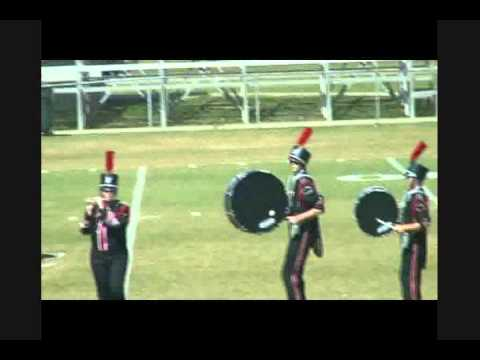 North Florida Christian School Marching Band at Little Big Horn Competition 10-15-2011 2.wmv