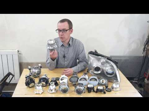 How to improve the headlights inexpensively and without problems