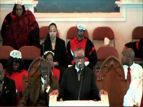 Rev. Perry Wright Jr. It's good to be in the right crowd- John 6 : 3-12