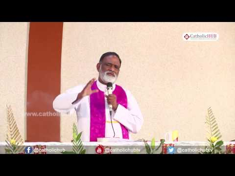 Word of God (Rev.Fr.Mathew Naickomparambil VC) @ Logos Retreat Centre, Bangalore, 22 04 17