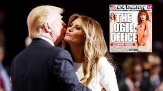 Donald Trump LEAKED Melania Trump nudes to New York Post!