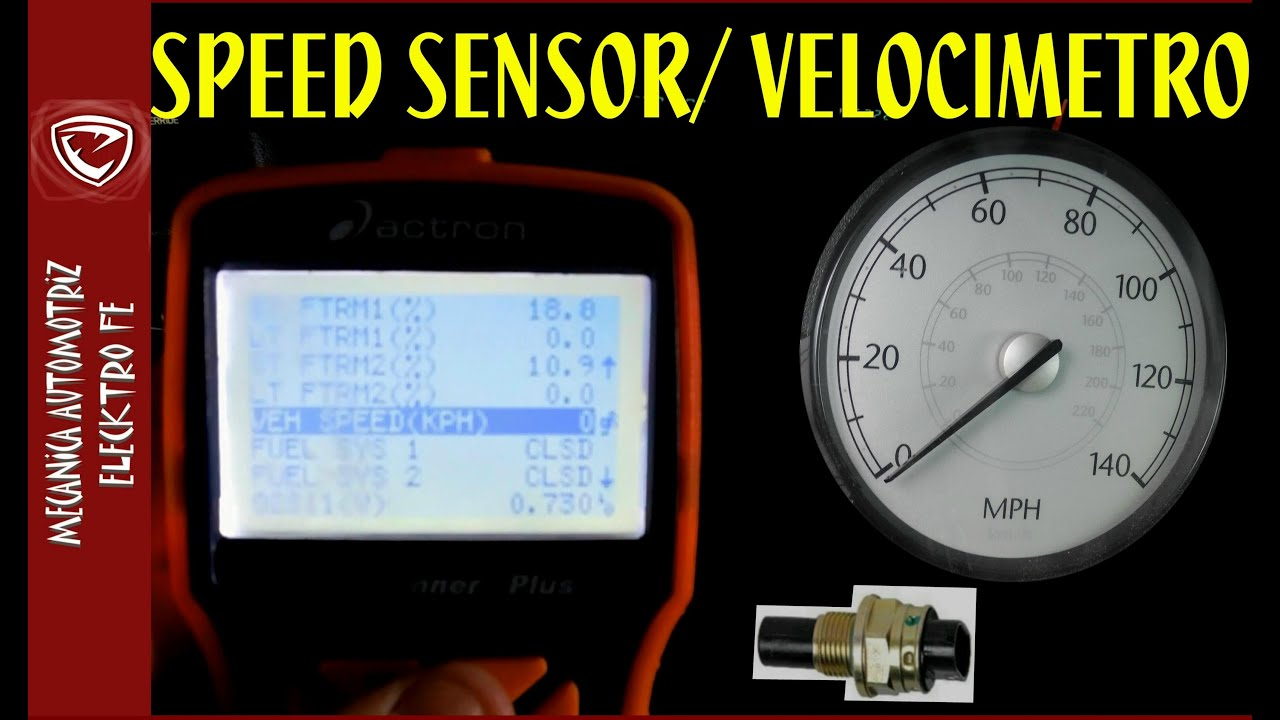 1996 Ford Ranger Wiring Sensor De Velocidad Speed Sensor De 2 Cables Se 241 Al Y