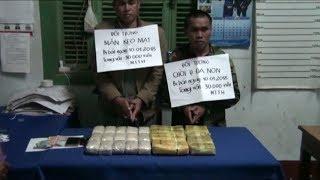 Bắt hai đối tượng vận chuyển 30 nghìn viên ma túy qua biên giới