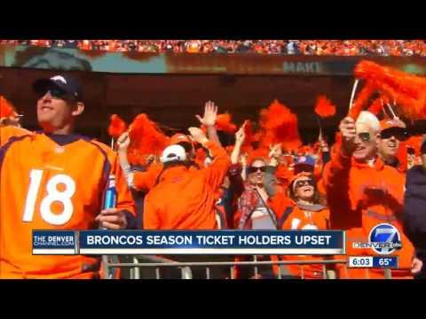 Suspended Broncos season ticket holder says he can prove he attended games last year