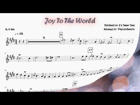 Joy To The World (Saxophone Sheet Music)