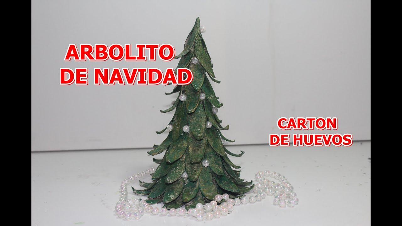 Arbol de navidad con carton de huevos christmas tree for Arbol de navidad con cajas de carton