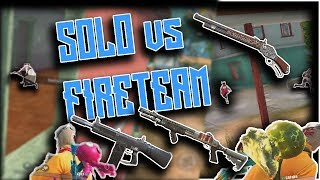 SHOTGUNS ARE AMAZING! Rules Of Survival 1v5 SOLO FIRETEAM ULTIMATE MONTAGE # 5