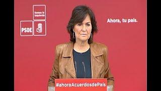 PSOE resta trascendencia a la reunión de Rubalcaba con PDeCat