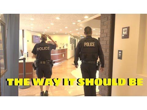 POLICE CALLED TO MANHATTAN BEACH CITY HALL