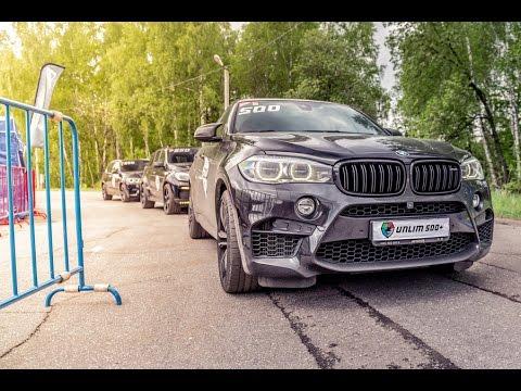 850 HP BMW X6M vs 900 HP Mercedes ML63 AMG