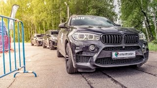 850 HP BMW X6M vs 900 HP Mercedes ML63 AMG