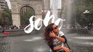 NYC TRAVEL DIARY: SOHO + WASHINGTON SQUARE PARK //006
