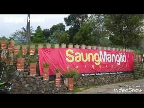 "Kuliner Sunda di ""SAUNG MANGLID"" ( organic caffe & resto)"