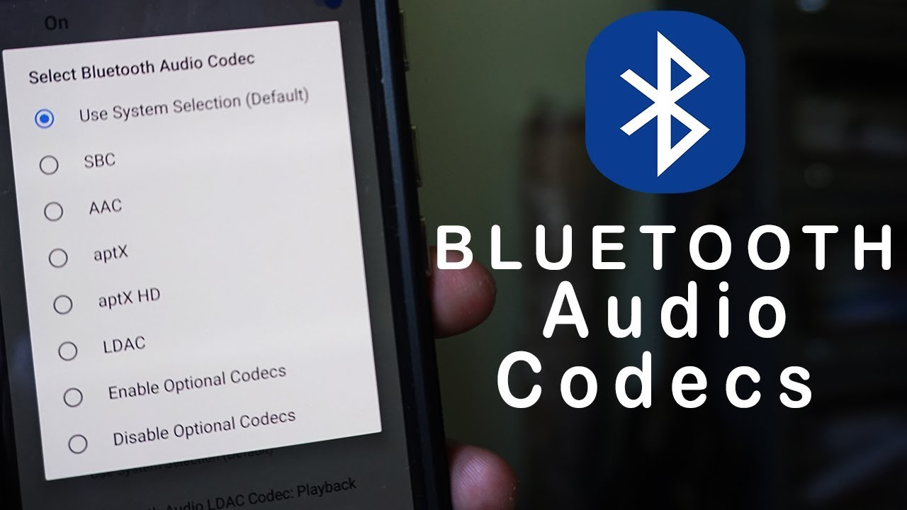 How to change Bluetooth Music Quality by changing Audio Codecs in Android  8 0 Oreo and 9 0 Pie