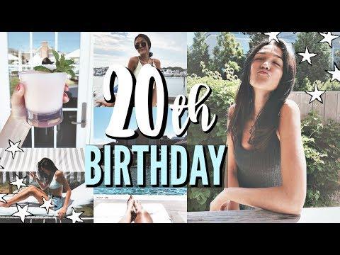 20th birthday in the hamptons + opening presents!! || Danielle Jordan