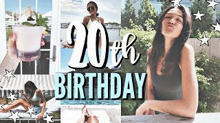 20th birthday in the hamptons + opening presents!! || Danielle Jordan
