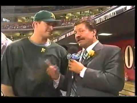 Mark Mulder stutters live during All-Stars