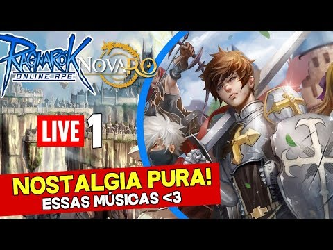 Ragnarok Online (Servidor Private NovaRO) Ao vivo #1 - Nostalgia