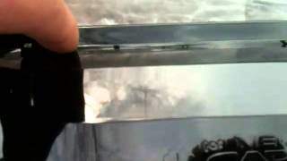видео Ветровики Clover (Корея) Aveo 2012г. хэтчбек (внешние) A133