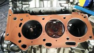 капитальный ремонт двигателя,  Toyota Camry 3.5
