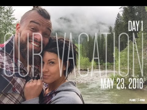 Arriving in Montana! Husband & Wife Vacation