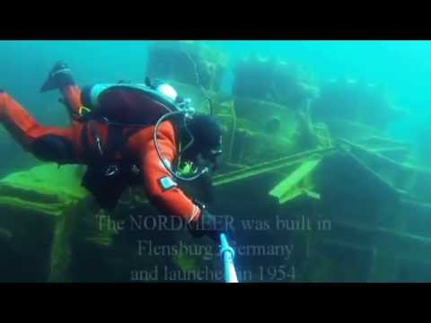 Diving the NORDMEER shipwreck in Lake Huron