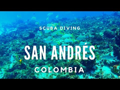 Scuba Diving In San Andrés, Colombia | September 2018 | GoPro Full HD