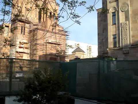 Армянский храмовый комплекс в Москве. Часть 1