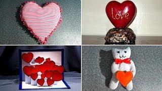 10 идей поделок на день Святого Валентина. Поделки на 14 февраля Video