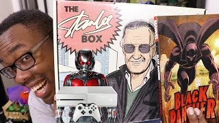 STAN LEE & BLACK PANTHER UNBOXING + SMALLEST XBOX EVER??