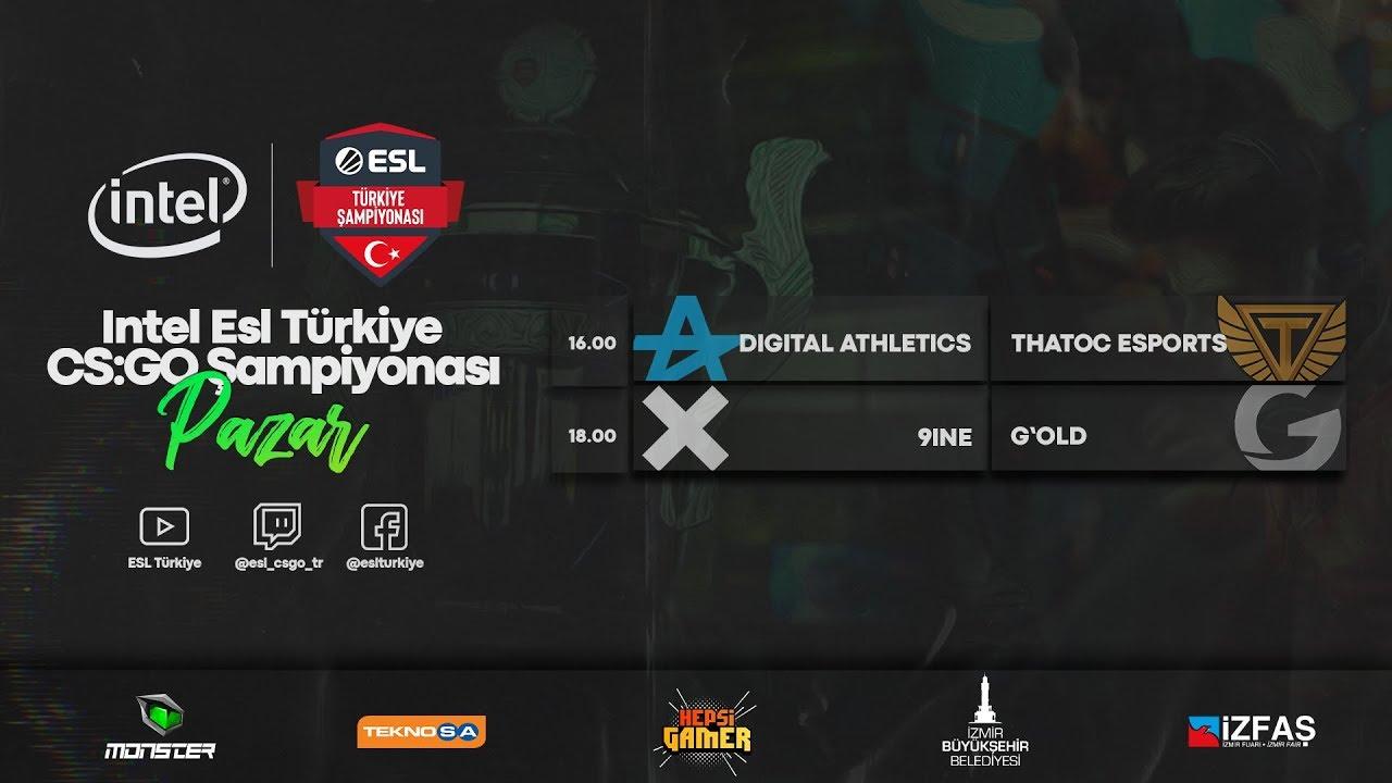 🔴CANLI: Intel ESL Türkiye Şampiyonası | 2020 Yaz Sezonu 2. Hafta 2. Gün Karşılaşmaları