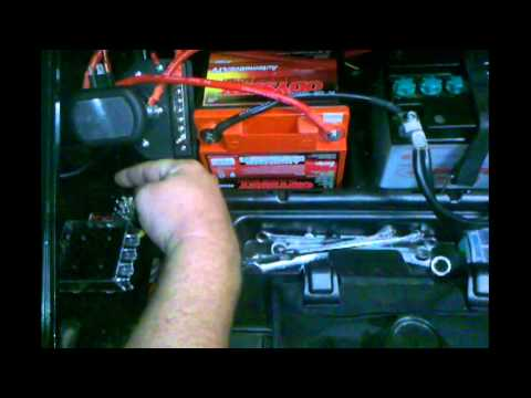Polaris Ranger dual battery setup with separator - YouTube