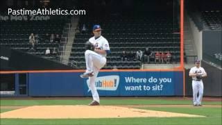 Matt Harvey Slow Motion Pitching Mechanics Instruction Analysis New York Mets Baseball MLB